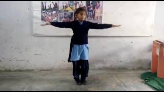 National Anthem in Sign language by a Differently abled child - Punjab