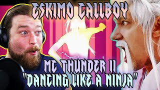 VOCAL COACH REACTION | ESKIMO CALLBOY | MC THUNDER II (DANCING LIKE A NINJA)
