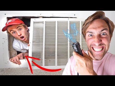 HIDE & SEEK WITH STUN GUN! (IF FOUND, GET SHOCKED WITH 1,000,000 VOLTS)