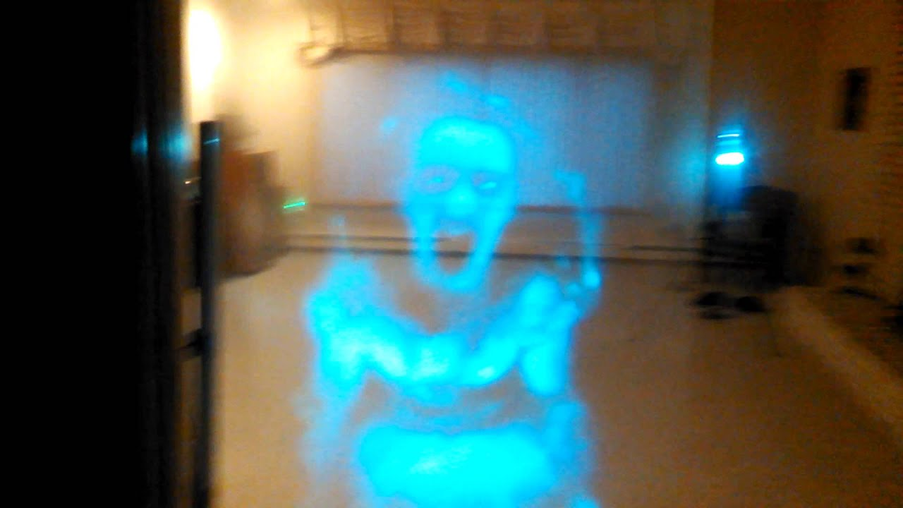 Raspi Motion Activated Transparent Screaming Ghost