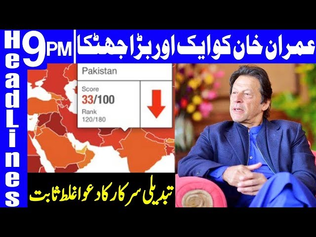 Corruption Soars in 2019 as compared to 2018 in Pakistan   Headlines & Bulletin 9 PM   23 Jan 2020