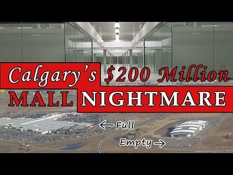 New Horizon Mall: $200 Million Dead Mall  - Calgary's Nightmare Shopping Center - Best Edmonton Mall