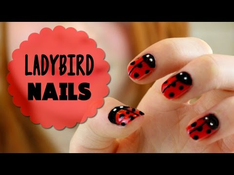Nail Art Tutorial How To Paint Ladybug Ladybird Nail Varnish
