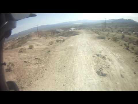 Bootleg Canyon - Jump tables and rusty car gap