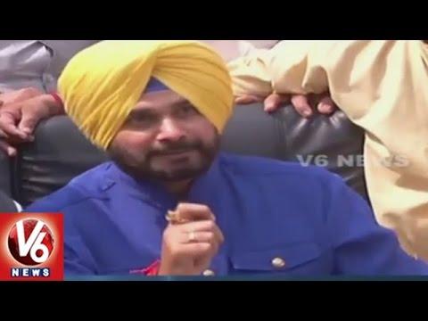 Punjab Results | Navjot Singh Sidhu Press Meet After Election Results | V6 News