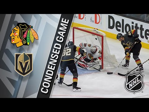 02/13/18 Condensed Game: Blackhawks @ Golden Knights