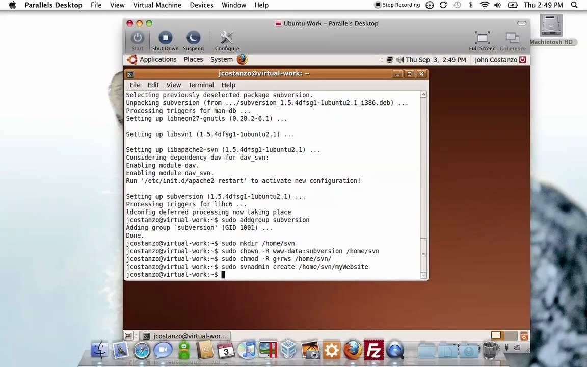 Setting Up an Ubuntu Subversion Server  odyniecnet