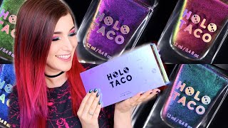 Holo Taco Multichrome Nail Polish Swatches! (Simply Nailogical's brand!) || KELLI MARISSA