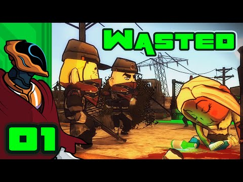 Let's Play Wasted - PC Gameplay Part 1 - Boom Goes The Wanderbot
