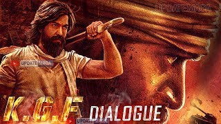 #KGF Movie Dialogue | Yash KGF Movie Release Date |Rocking Star Yash  KGF Movie Release Date