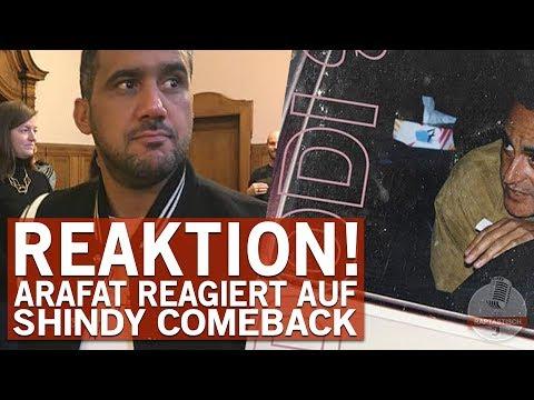 Arafats Reaktion auf die Rückkehr von Shindy!