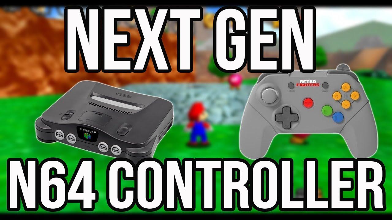 The Ultimate N64 Controller Next Gen Nintendo 64