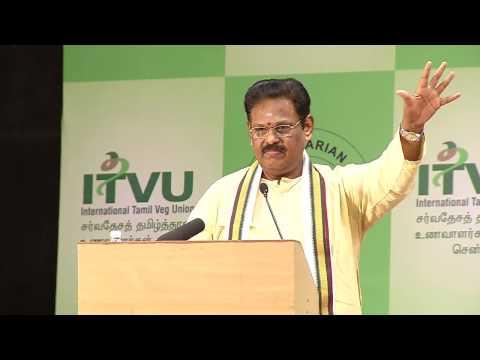 IVU 42nd world veg fest  at chennai- sugisivam speech