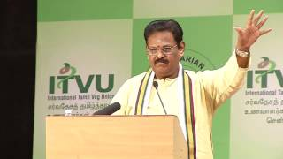 IVU 42nd world veg fest  at chennai- sugisivam speech