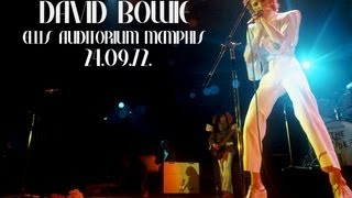 David Bowie Memphis 1972 Super 8mm (Dubbed)