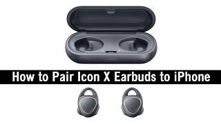 Як пара значок Samsung шестерні X навушники до iPhone