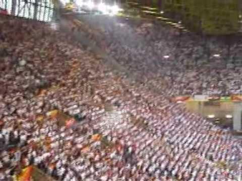 Gänsehaut in Dortmund, Länderspiel Deutschland-Polen (WM 2006)