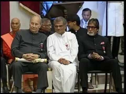 President Pranab Mukherjee confers Padma Awards