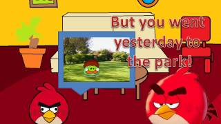 Repeat youtube video Angry Birds animation: Red Goes To The Park