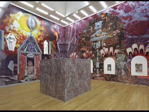 Contemporary Art gallery installation. Nottingham 13/11/15
