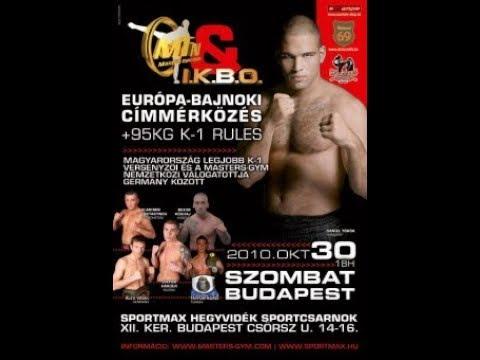 Norbert Balogh vs Alex Vogel I.K.B.O superfight 2010 okt.30. Masters fight night