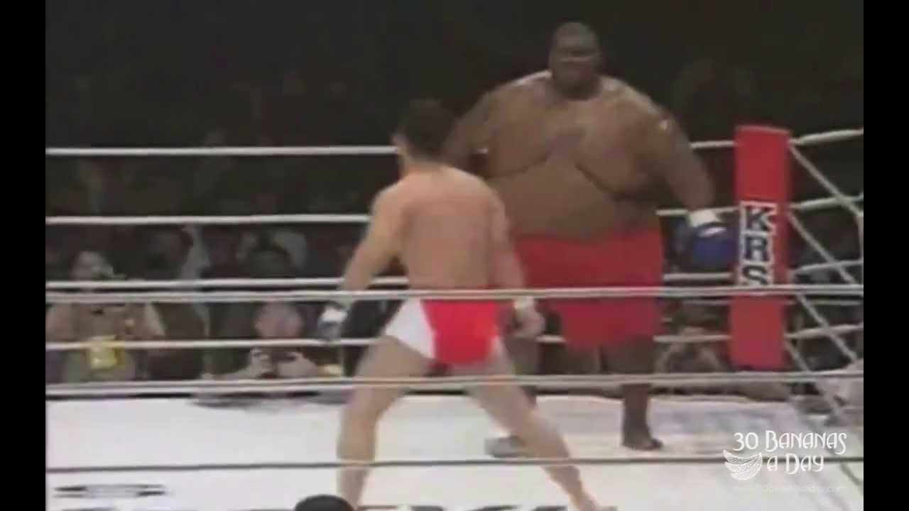 Image result for big fat guy vs small guy at ufc 1