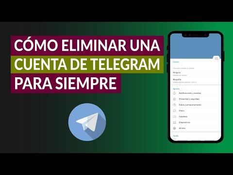 ¿Cómo Eliminar una Cuenta de Telegram para Siempre? - Paso a Paso