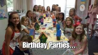 All Things Art Studio - Kids Birthday Parties - Arts and Crafts Chicago Il