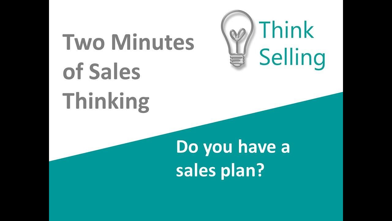 Do you have a sales plan