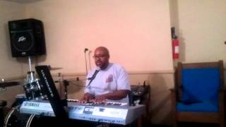 Pastor Roderic Lewis singing Couldnt be a Sinner