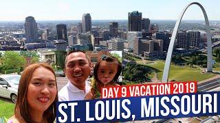 Travel Vlog DAY 9: St. Louis, Missouri | Vacation 2019