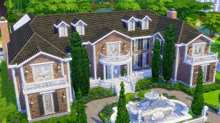 Building a Million Dollar Mansion in The Sims 4 (Streamed 10/28/20)