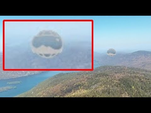 Sphere UFO Found On Google Earth Map