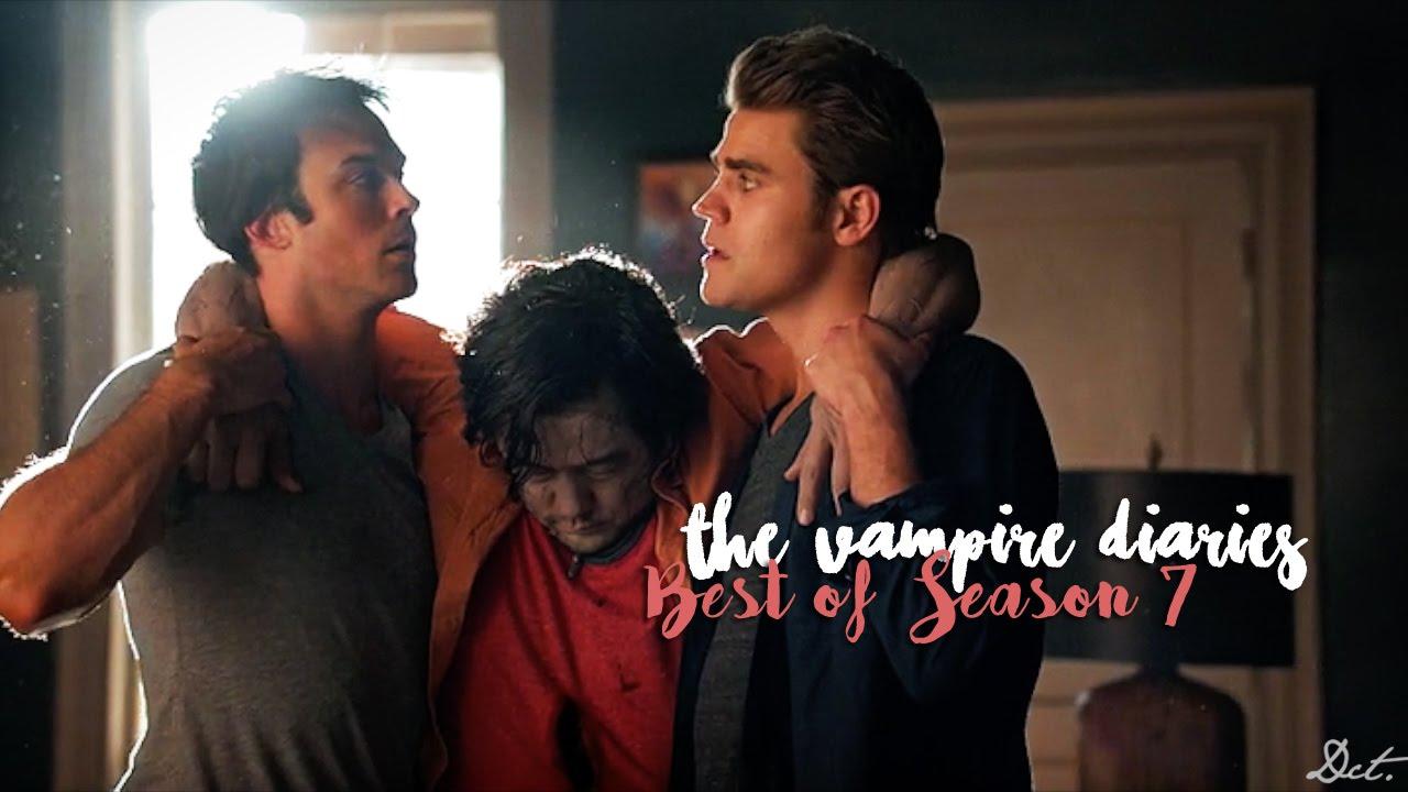 The Vampire Diaries Best Of Season 7 Humor Youtube