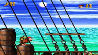 Donkey Kong Country: Diddy Kong Quest Gameplay via ZSNES Emulator on PC