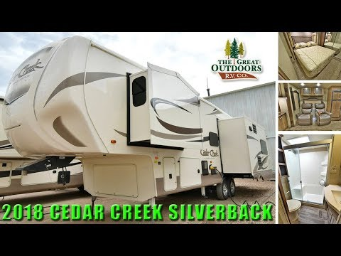 2018 Luxury 5th Wheel CEDAR CREEK SILVERBACK 29RE Rear Living Room Colorado Full Time RV Dealer