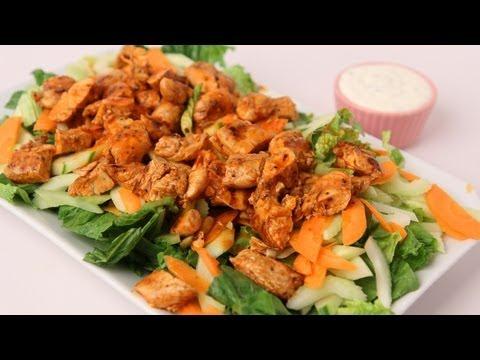 Buffalo Chicken Salad Recipe Laura Vitale Laura in the Kitchen Episode 423