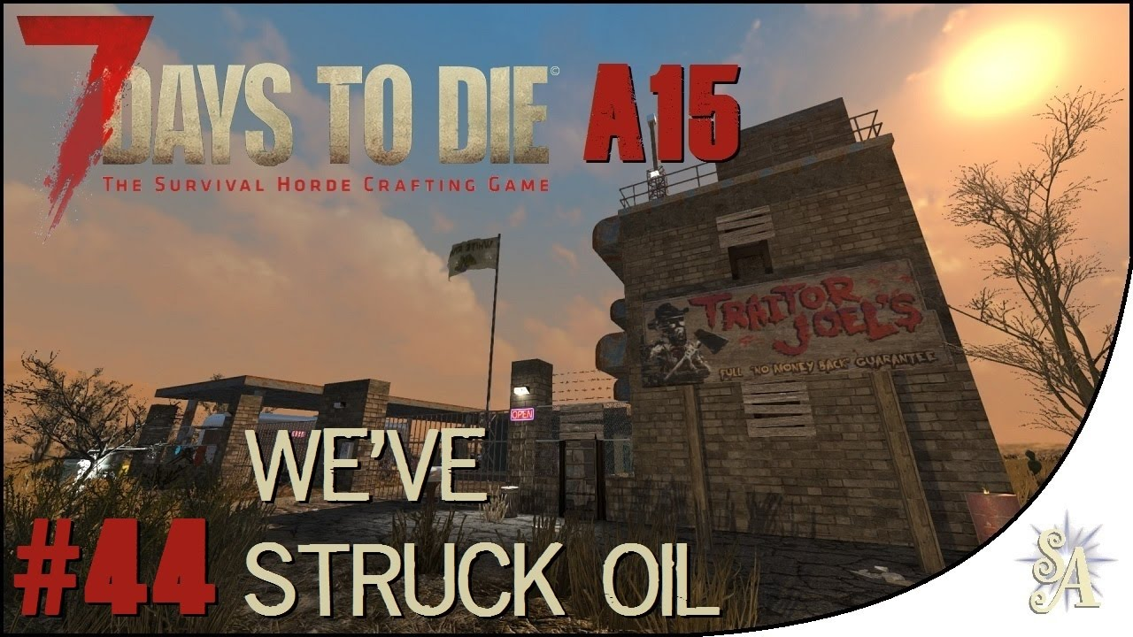 7 days to die how to find shale oil