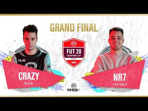 QLASH CRAZY VS NR7 | FUT Champions Cup Stage II | Grand Final | FIFA 20 Global Series