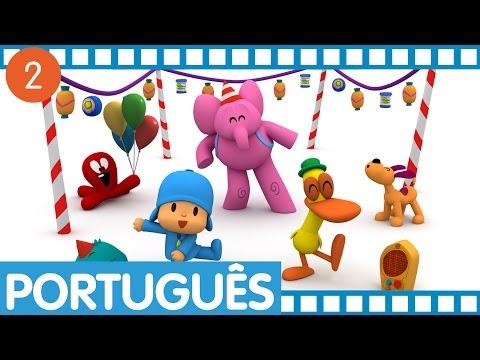 Pocoyo - Episódios completos em Português (Temporada 1 - Ep.5-8) Vídeos De Viagens