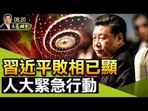 20210820 习近平败相已显,人大紧急叫停在香港实施《反外国制裁法》;FBI结论证实川普清白(政论天下第491集 20210820)天亮时分