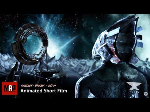 "CGI 3D Animation Short ""BROKEN"". Experimental Sci-Fi Animated Film by ArtFX"