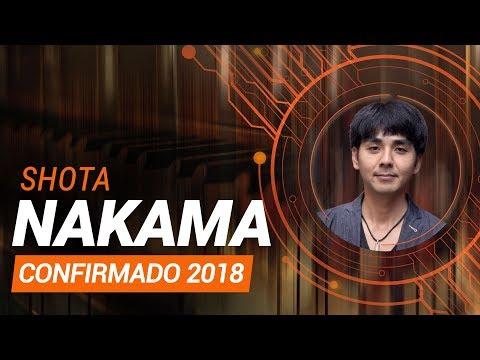 SHOTA NAKAMA ESTÁ CONFIRMADO NA #BGS2018!