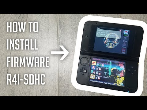 How to install Firmware on R4i-SDHC Gold Pro - YouTube