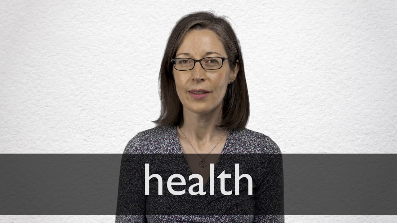 How to pronounce HEALTH in British English