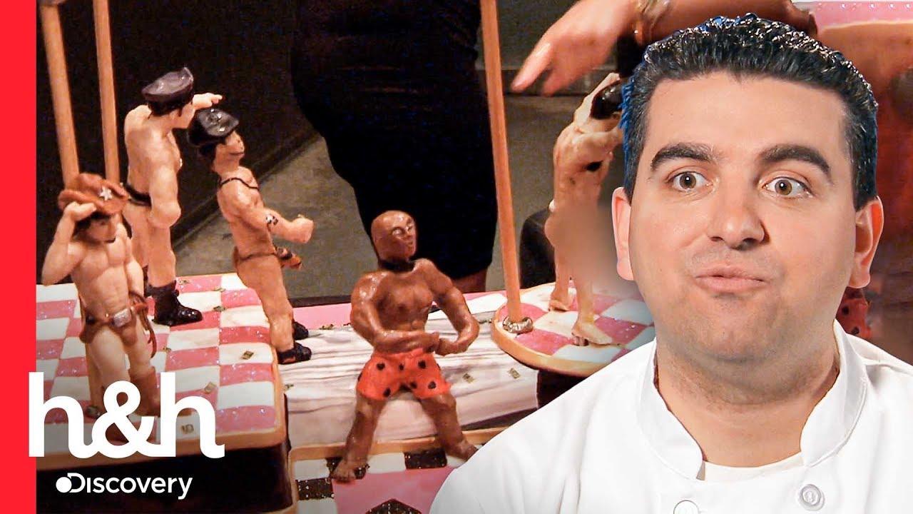 Download Pastel erótico de bailarines escandaliza a la mamá de Buddy | Cake Boss | Discovery H&H