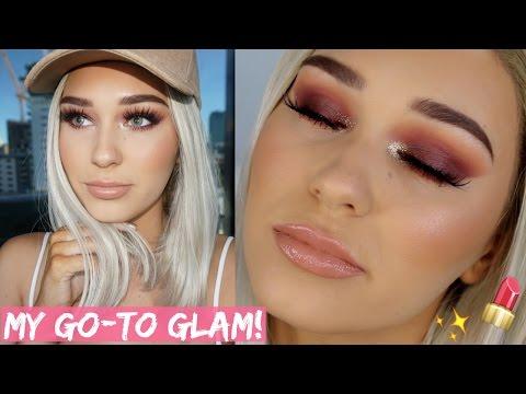 Blonde Bombshell Full Glam Makeup Tutorial