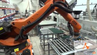 robotic cell with fravol edge banding