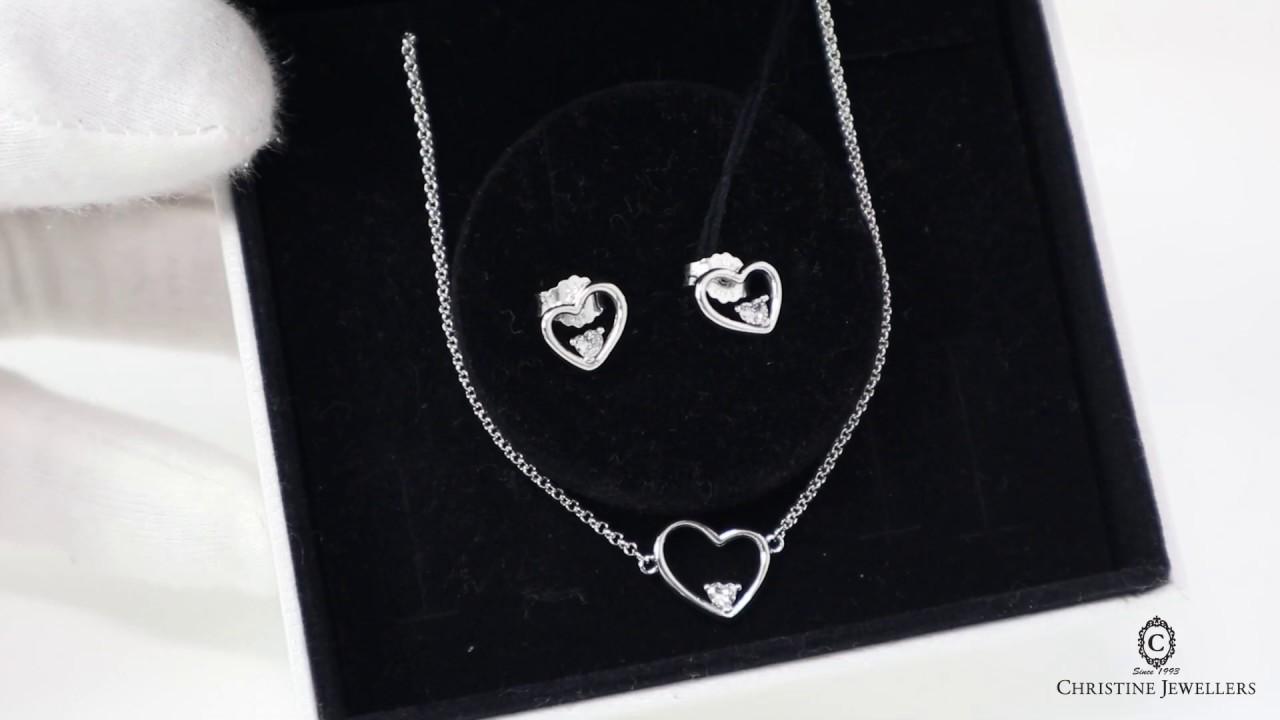 2019 Pandora Shape Of My Heart Jewelry Gift Set B801111 Youtube