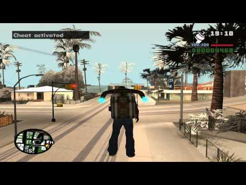Обзор модов Gta San Andreas #1 - Новые Анимации